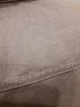 Женская рубаха с перламутровыми пуговицами из нат ракушки. Лён, фото №5