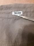 Женская рубаха с перламутровыми пуговицами из нат ракушки. Лён, фото №8