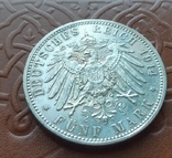 5 марок 1914 Бавария. Людвиг III, фото №7