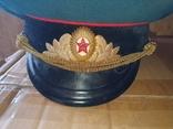 Офицерские фуражки СССР артиллериста СА( 2 шт одним лотом), фото №4