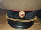 Офицерские фуражки СССР артиллериста СА( 2 шт одним лотом), фото №5