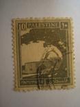 Марка.Британская Палестина .1927 -1942 Могила Рахили, фото №2