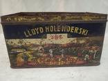 Kakao Lloyd Holenderski металева банка 1930-х років, фото №5
