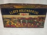 Kakao Lloyd Holenderski металева банка 1930-х років, фото №7