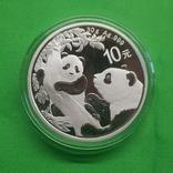 Китай 10 юаней Панда Панды 2021, фото №2