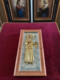 Мощевик-икона Святая Матрона Московская с частицей., фото №6