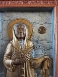 Мощевик-икона Святая Матрона Московская с частицей., фото №2