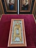 Мощевик-икона Святого преподобного Сергия Радонежского с частицей., фото №7