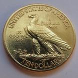 10 долларов 1912 г. США (Индеец), фото №5