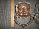 Дверные маскароны.Львы.СССР., фото №4