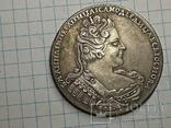 Рубль 1733 Анна копия, фото №3