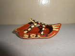 Туфля,пепельница обливная керамика, фото №5