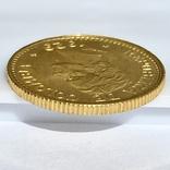 5 песо. 1929. Колумбия (золото 917, вес 7,97 г), фото №9