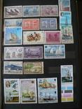 Парусники на марках колоний и разнх стран MNH** в альбоме, фото №3