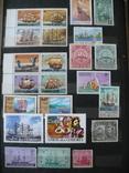 Парусники на марках колоний и разнх стран MNH** в альбоме, фото №7