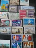 Парусники на марках колоний и разнх стран MNH** в альбоме, фото №10