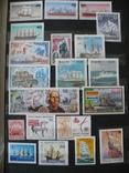Парусники на марках колоний и разнх стран MNH** в альбоме, фото №11