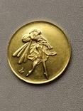 """Монетовидная медаль """"Анна Павлова""""., фото №3"""