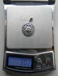 Кулон. Серебро 925 пр. Вес - 3,02 г., фото №2