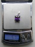 Кулон. Серебро 925 пр. Вес - 5,76 г., фото №2