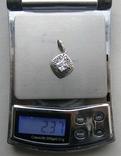 Кулон. Серебро 925 пр. Вес - 2,37 г., фото №2