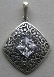Кулон. Серебро 925 пр. Вес - 3,47 г., фото №3