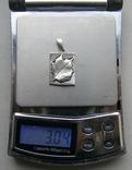Кулон. Серебро 925 пр. Вес - 3,04 г., фото №2