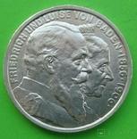 5 марок, 1906 год, Баден,, фото №2