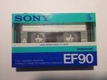 Аудіокасета SONY EF90 Japan, фото №2