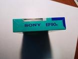 Аудіокасета SONY EF90 Japan, фото №7