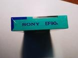 Аудіокасета SONY EF90 Japan, фото №8