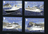 Гибралтар - Круизные суда. Транспорт. Costa Concordia(!). серия, фото №2