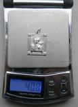 Кулон. Серебро. Вес - 4,08 г., фото №2