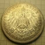 1904 год, 5 марок, Баден., фото №5