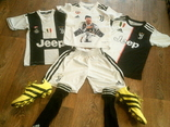 Ювентус Криштиану Роналду 7 - комплект футбольный детский, фото №4