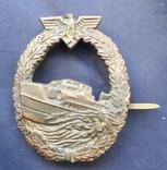 Знак III Рейха Германии - член команды торпедного катера копия, фото №2