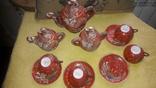 Китайский сервиз ручной работы. Клеймо SPHINX, фото №3