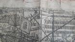 """Гравюра """"Отступление Ерцгерцога Матиаса из Нидерландов 1581 г."""" G. Baudartius 1616 г., фото №5"""