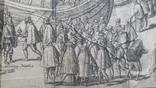 """Гравюра """"Отступление Ерцгерцога Матиаса из Нидерландов 1581 г."""" G. Baudartius 1616 г., фото №9"""