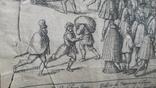 """Гравюра """"Отступление Ерцгерцога Матиаса из Нидерландов 1581 г."""" G. Baudartius 1616 г., фото №10"""