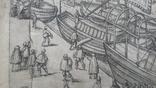 """Гравюра """"Отступление Ерцгерцога Матиаса из Нидерландов 1581 г."""" G. Baudartius 1616 г., фото №11"""