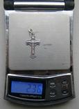 Крестик. Серебро 925 пр. Вес - 2,36 г., фото №2