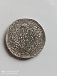 Британская Индия. 1/4 рупии, 1943 год., фото №3