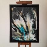 Картина/ живопис/ абстракція Fluid Art #7 acrylic, фото №2