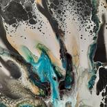 Картина/ живопис/ абстракція Fluid Art #7 acrylic, фото №12