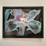 Картина/ живопис/ абстракція Fluid Art #8 acrylic, фото №9