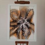 Картина/ живопис/ абстракція Fluid Art #9 acrylic, фото №2