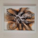Картина/ живопис/ абстракція Fluid Art #9 acrylic, фото №6