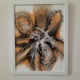 Картина/ живопис/ абстракція Fluid Art #9 acrylic, фото №12