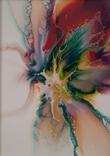 Картина/ живопис/ абстракція Fluid Art #10 acrylic, фото №8
